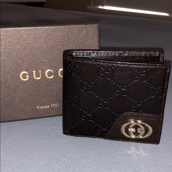 64d221b9b15 Gucci Other - New Mens GG Embossed Leather Gucci Wallet Brown 🤩